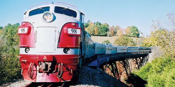 Branson Scenic Railway | Photo courtesy of the Branson Convention and Visitors Bureau